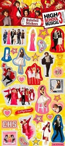 High School Musical 3 - Foil Sticker Pack - Sticker Style by High School Musical (High School Musical-pack)