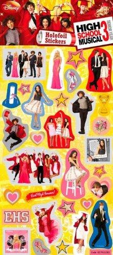 High School Musical 3 - Foil Sticker Pack - Sticker Style by High School Musical (Musical-dekorationen High School)