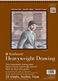 """Strathmore 400 Series Heavyweight Drawing Pad, Medium Surface, 18""""x24"""" Wire Bound, 24 Sheets"""