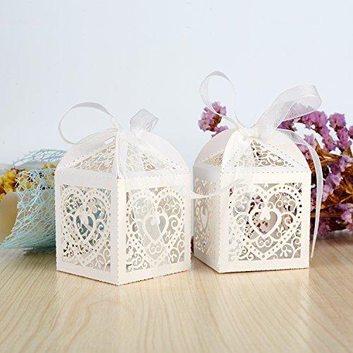 Geschenkboxen inkl. Bänder | 100 Stück