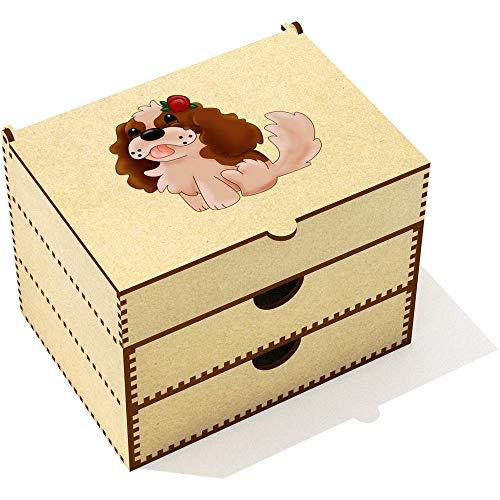 Azeeda 'Königcharles Spaniel' Kosmetikkoffer (VC00020212) -