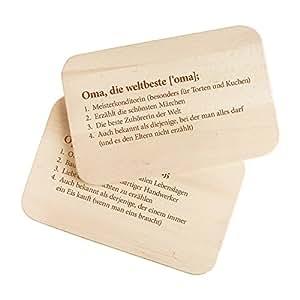 2er set fr hst cksbrettchen aus holz mit gravur definition oma und definition opa ca. Black Bedroom Furniture Sets. Home Design Ideas