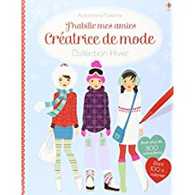 J'habille mes amies - Créatrice de mode : Collection Hiver - Autocollants Usborne