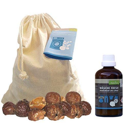 Starterpaket Waschnuss: Waschnüsse 1kg+ Wäsche Fresh Citrus