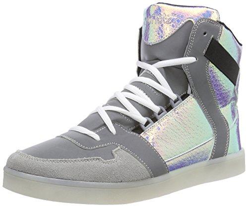 Nat-2 Led Cube, Baskets hautes homme Multicolore - Mehrfarbig (vanish snake)
