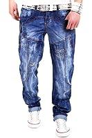 Kosmo Lupo Pocket Jeans Blau KM2588