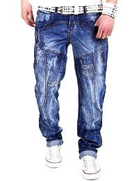 Kosmo Lupo - KM2588 - Jean à poches - bleu