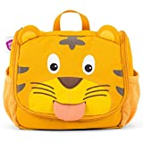 Affenzahn Kulturtasche für Kinder mit Ziehzunge und Verstecktem Haken Zum aufhängen Timmy Tiger - Gelb