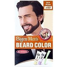 bigen hommes de barbe couleur marron fonc b103 - Coloration Barbe