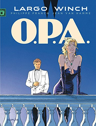 Largo Winch - tome 3 - O.P.A. (grand format)