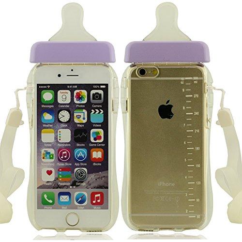 élevé clair transparent Case Coque Pour iPhone 6 Plus 5.5'