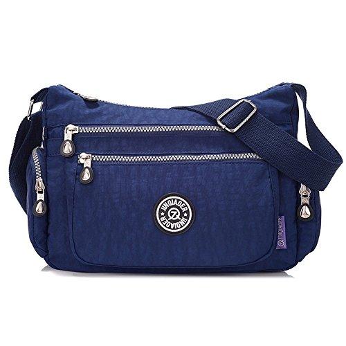02660052be Suzone da donna in nylon borsa messenger a tracolla zainetto sportivo Pack  Leisure borsa a tracolla. e 'realizzato in materiale di ...