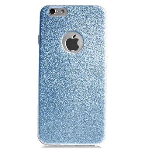 Glitzer Schutz Hülle TPU für Apple iPhone 4 4s Bling Weich Hülle Strass Weich Silikon Dünn Tasche Glitzer Handy Cover Case (Galaxy 4s Phone Cases Bling)