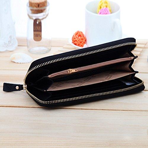 Donne 'borse da sacchetti delle donne' s borse moda raccoglitore lungo ( colore : Nero ) Nero