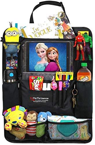 nschutz (1 Stück) Tablet Halter Auto Rücksitz-Organizer für Kinder, Autositz-Schoner wasserdicht   Thermal Taschen für Getränke ()