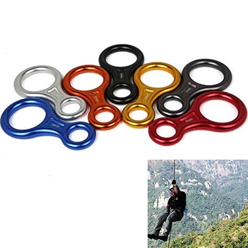 Ju-sheng arrampicata di salvataggio figura 8 dispositivo di discesa in corda doppia del discensore camping
