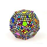 ZMH 7X7x7 Nero 12 Colori Diversi di 5 Cubo di Rubik, Difficile E Strano Cubo di Rubik Forma Professionale Difficoltà di Alta Ordine Variante Cubo Variante