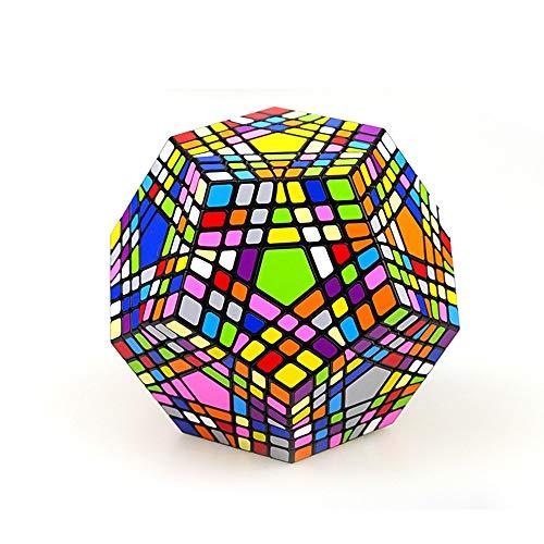 ZMH 7X7x7 Negro 12 Colores Diferentes De 5 Cubo De