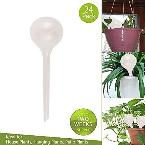Aqua globes- Piante irrigazione bulbs-provides 2settimana per interni e esterni piante (24)