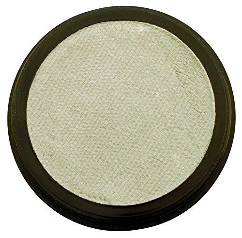 - Profi-Aqua Make-up Schminke - Perlglanz-Silber - 20 ml/30 g (Joker Face Make Up)