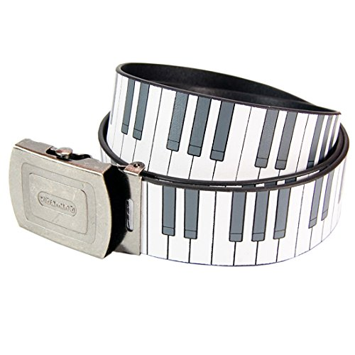 Piano Keys Belt. Cool Stylish Clothing SKA Blues Punk Accessory