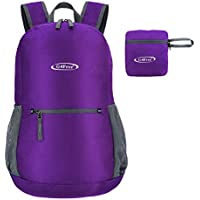 G4Free 20L Ultra Lightweight Packable Small Backpack Water Resistant Hiking  Daypack Foldable Camping Outdoor Backpack Handy 9ec29ea6ba0ab