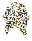 Pepe Jeans Aldora Jr Girl's Multicolor Poncho In Size L Multicolour