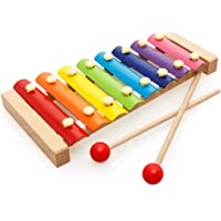 Trinkets & More - Xylophone for Kids (Big Size) Wooden Musical Instruments Piano Toy Baby Children Toddlers 6 Months…