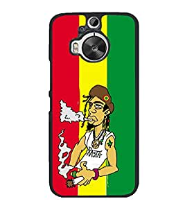 printtech Weed Dude Cool Smoke Back Case Cover for HTC One M9 Plus