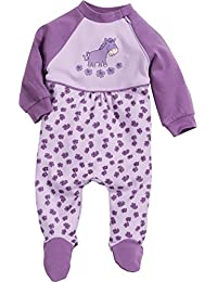 Playshoes Baby-Girls Overall Horse Sleepsuit