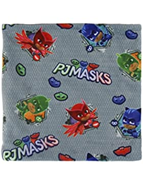 [Patrocinado]Cerdá Pjmasks, Bufanda para Niños, Multicolor (Azul), 3 años (Tamaño del fabricante:m)