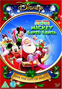 Mickey Mouse Clubhouse - Mickey Saves Santa And Other Mouseketales [DVD]