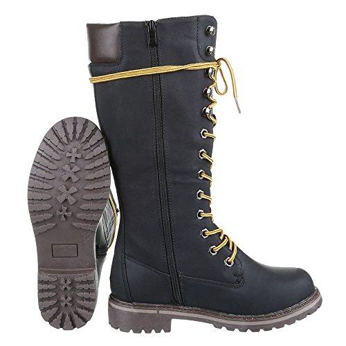 Lace Senhoras 067 design Botas zip Sapatos Preto Clássicas Bloquear pg Calcanhar Botas Ital Conforto 1wHd0H