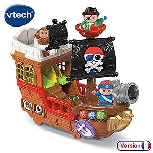 VTech - Super Barco Pirata 2 en 1 Todo Copains Univers, 80-177875, Multicolor