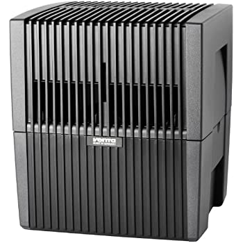 Venta Luftwäscher LW25 Luftbefeuchter + Luftreiniger für Räume bis 40m², anthrazit