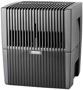 Venta Luftwäscher LW25 Luftbefeuchter und Luftreiniger für Räume bis 40 qm, anthrazit
