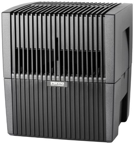 W25 Luftbefeuchter + Luftreiniger für Räume bis 40m², anthrazit (Häuser Luftbefeuchter Filter)