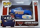 Funko 14234-Disney Cars 33Vignette Lightning McQueen Blue Fabulous