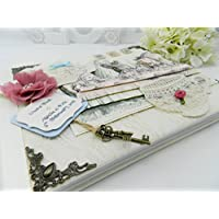 Personalised & Boxed Alice in Wonderland Inspired Guest Book/Journal