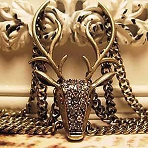 Alliage de bronze de Wapiti Bracelet Vintage Vintage 16cm femmes (1 PC)