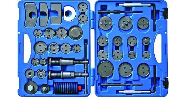 Kunzer 7BW41 Bremskolbenr/ückstell-Werkzeugsatz 41-Teilig im Koffer