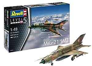 Revell Revell-MiG-21 Maqueta MiG-21 SMT, Kit Modelo, Escala 1:48 (03915), 32,8 cm de Largo