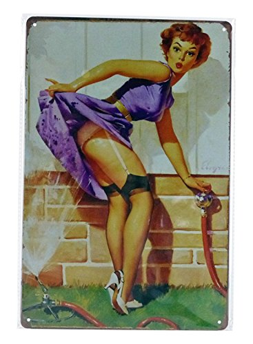 Dioramax - pro10427 - Platte Metall - Pin Up Water - Echelle 1/1 - Violett