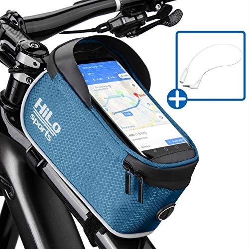 Rahmentasche Fahrrad für Smartphone am Oberrohr | Rad Oberrohrtasche wasserdicht | Handy Fahrradtasche Rahmen | Oberrohr Fahrradtasche Mountainbike Handy-rahmen