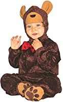 Baby Girls Boys Brown Teddy Bear Animal Fancy Dress Costume Outfit 6-12 12-24 months