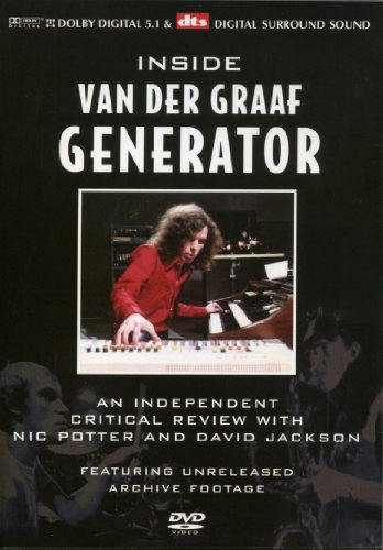 Inside Van Der Graaf Generator: The Definitive Critical Review [DVD] [2005] [Region 1] [US Import] [NTSC] Ntsc-generator