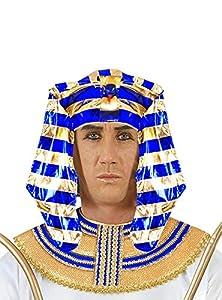 WIDMANN wid34085?Tocado Faraone egipcio, multicolor, talla única