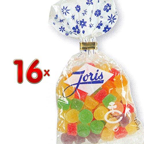Joris Meli-Melo Sachet 16 x 125g Packung (Weingummi mit unterschiedlichem Fruchtgeschmack)