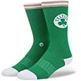 Stance Socken – Nba Boston Celtics Everyday Light Cushion Jersey grün/weiß/braun Größe: 43 bis 46 EU I 9-11.5 USA I 8.5-11 UK