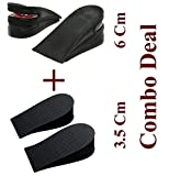 #3: Combo Deal : 6 Cm Height Increasing Shoes Insoles + 3.5 Cm Height Increasing shoes Insoles